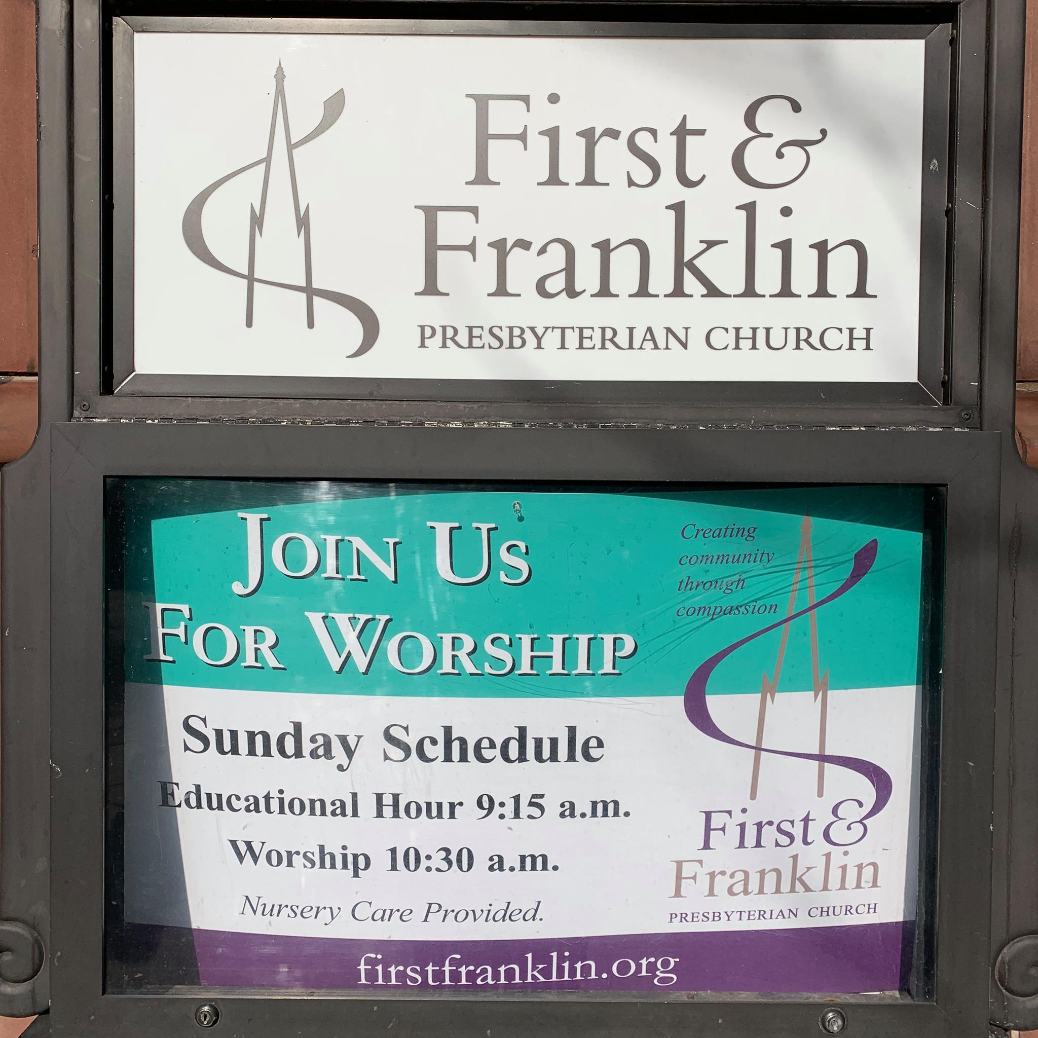 worship sign